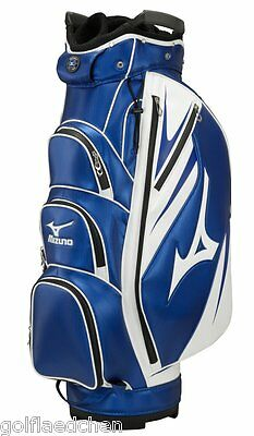 Mizuno Golf Tour Cartbag Golfbag / Trolleybag - Navy Weiss - NEU 2015 - UVP 249€