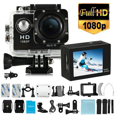 SJ7000 WIFI Mini 1080P Full HD DV Cam Waterproof Sports Action Camera Camcorder