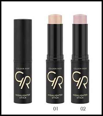 NEW Golden Rose HighLighter Stick Make-Up for Face & Decollete - 2 Shades