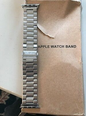 Apple Watch Band 42mm Stainless Steel Wrist Replacement Strap Band