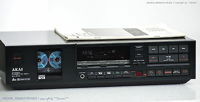 AKAI GX-R70 Vintage High-End Cassette Tape Deck 1A-Zust!! Revidiert+1J.Garantie