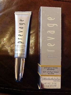 BRAND NEW BOXED ELIZABETH ARDEN PREVAGE ANTI-AGING WRINKLE SMOOTHER CREAM 15ml