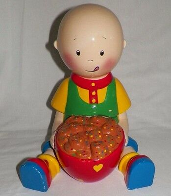 Ceramic Caillou Cookie Jar 2002 Cinar/Danawares