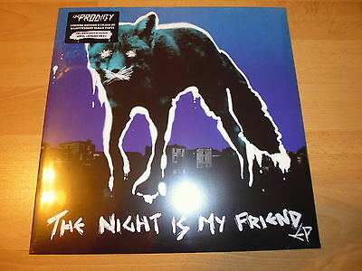"""12"""" - The Prodigy - The Night Is My Friend Ep - Still Sealed - Ltd Clear Vinyl"""