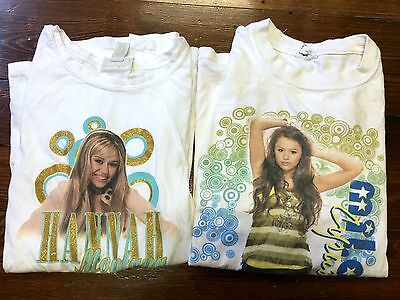 Miley Cyrus 2007-2008 Best Of Both Worlds Tour Concert T-Shirt Limited Too Lot