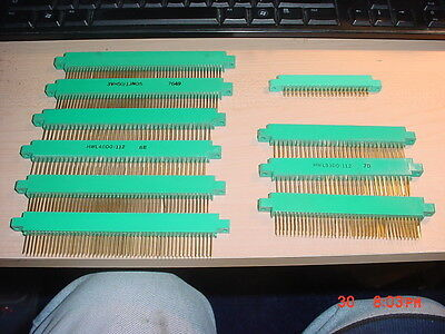 PC Board Connector Edge Assorted Gold-Plated  42/62/100-pin Amphenol? VIKING ?