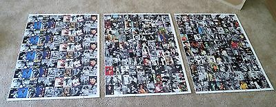 Elvis Presley 3 UNCUT Trading Card Sheets River Group 1992 Total 300 Cards MINT