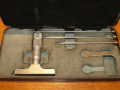 "Cased Moore & Wright 0 - 3"" Depth Micrometer - made in England!!!!"