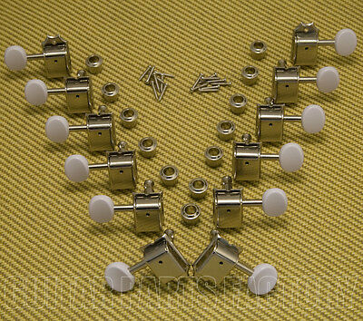 008-1568-000 Fender Chrome Tuning Machines Villager 12-string Acoustic Guitar