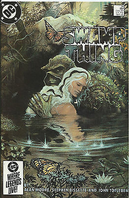 Saga of the Swamp Thing #34 - March 1985