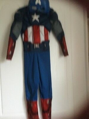 captain america dressing up Costume With Mask