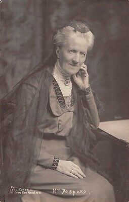 Charlotte DESPARD,  Suffragette & Pacifist - Member of Women's Freedom League