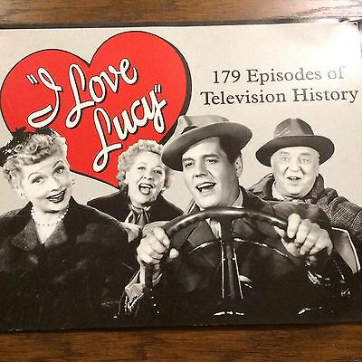 """""""I Love Lucy"""" Metal Sign 179 Episodes Of Television History"""