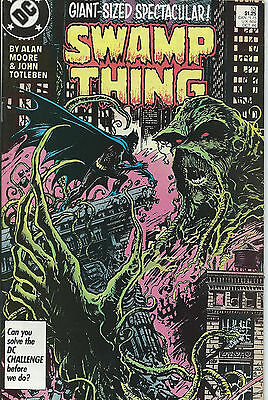 Swamp Thing #53 - October 1986