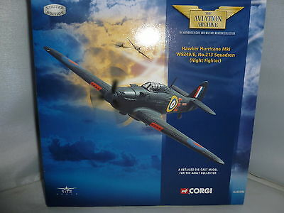 Corgi Aviation Archive Diecast Aa32002 Hawker Hurricane Mki