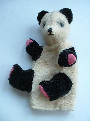 Vintage Unusual 4 Finger Hand Puppet Panda - Sooty & Sweep Character ?