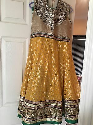 Yellow Pujami Suit Size 34
