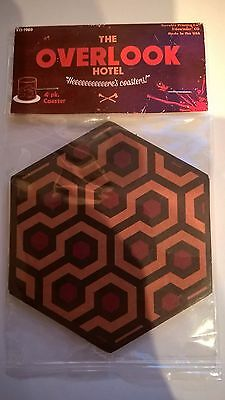 Rare New & Sealed ~ Overlook Hotel Carpet Coasters ~ The Shining Stephen King