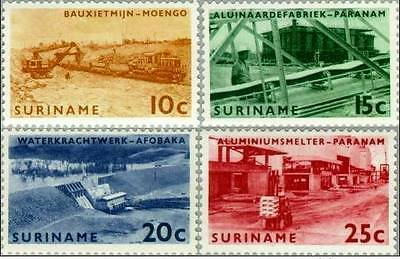 # SURINAME - 1965 - Brokopondo Industries - 4 Stamps MNH