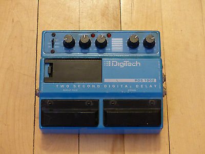 Vintage Digitech PDS 1002 Two Second Digital Delay Pedal