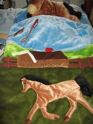 Sleeping Bag  New For Child Who Likes Ponies