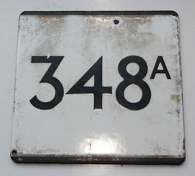London Transport Country Area E Plate 348A