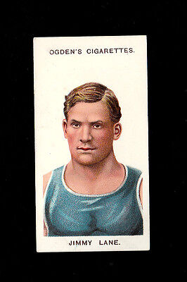 "OGDEN'S 1908 SCARCER ( BOXING ) TYPE CARD "" # 27 JIMMY LANE -- 1st SERIES """