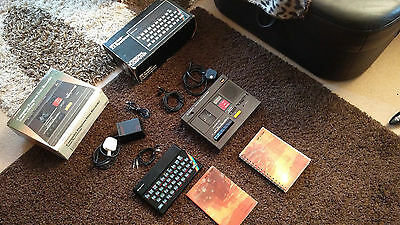 Sinclair ZX Spectrum 48K boxed, with PSU manual, tape deck