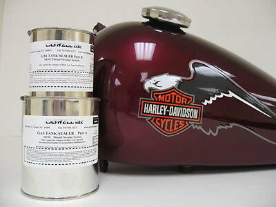 CASWELL EPOXY MOTORCYCLE GAS TANK SEALER Harley Ducati Triumph BSA  Norton