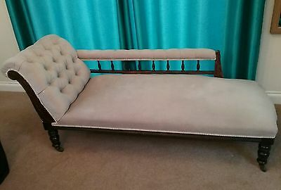 Antique Victorian?/Edwardian? Chaise longue. Collect in person South Bristol.