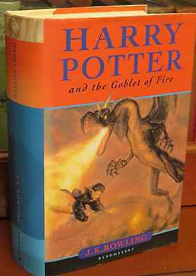 Harry Potter and The Goblet of Fire FIRST EDITION SIGNED J.K.ROWLING