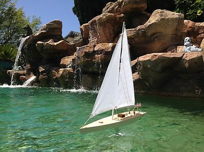 "Americas Cup Contender AustraliaII Sailing Model Boat 20"" Ready To Run RC Yacht"