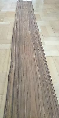Rosewood real wood veneer 1 leaf 2950 mm x 240 mm very great sheet 7.5 ft2