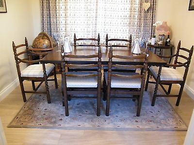 Youngers  Extending Dining Table and 6 chairs