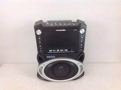 Karaoke GF829 USA System with 7-Inch Screen & 2 Microphones