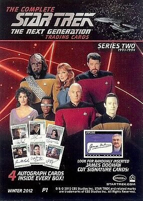 Star Trek TNG Complete Serie 2 : Mini Master Set #1