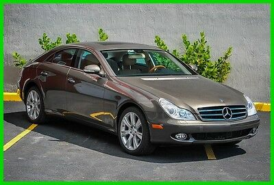 2006 Mercedes-Benz CLS-Class CLS 500 DESIGNO PACKAGE WITH FACTORY OPTIONED 18'S 2006 CLS500  Sedan Coupe 5L V8 24V Automatic RWD  Moonroof Premium Mercedes Benz
