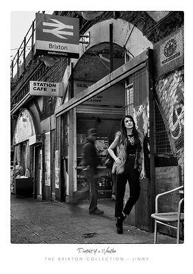 Jinny - Brixton Collection - A3 Signed Print