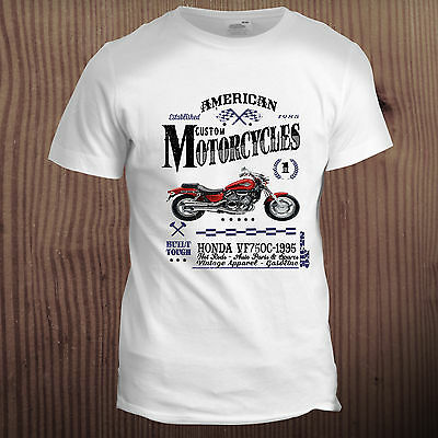 Hot Rod Motorbike Muscle Car Motorcycle Vintage Classic 70s 80s T Shirt