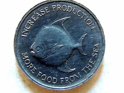 1971 Singapore Five (5) Cents Coin