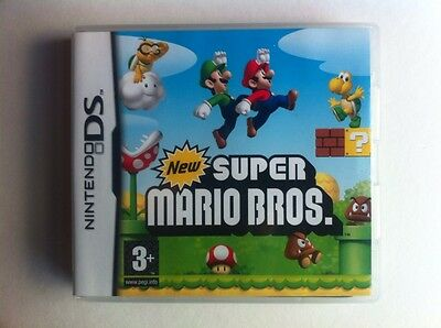 New Super Mario Bros Case & Manual only!