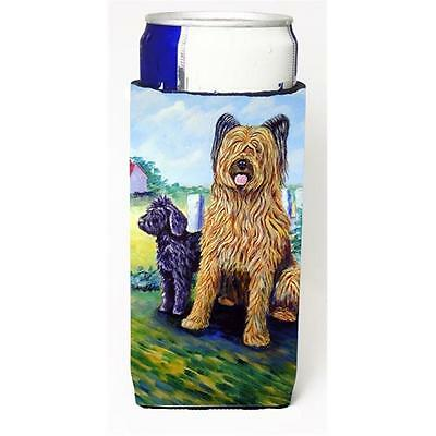 Carolines Treasures Briard Michelob Ultra bottle sleeves For Slim Cans 12 oz.