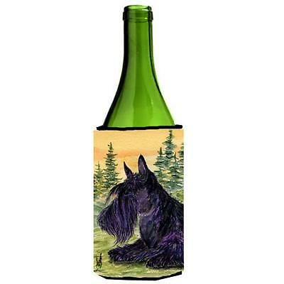 Carolines Treasures Scottish Terrier Wine bottle sleeve Hugger 24 oz.