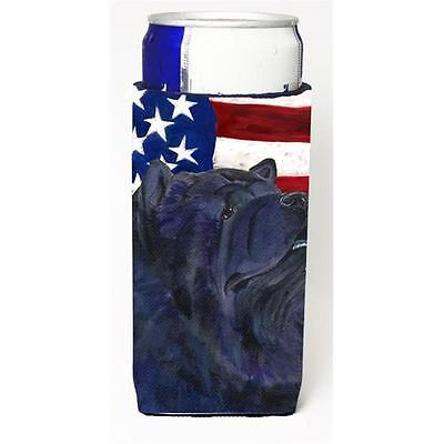 Usa American Flag With Chow Chow Michelob Ultra s For Slim Cans 12 oz.