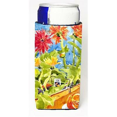 Carolines Treasures Flower Gerber Daisies Michelob Ultra s For Slim Cans 12 oz.