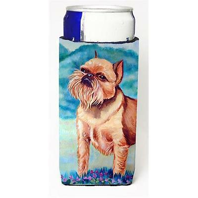 Brussels Griffon Michelob Ultra bottle sleeves For Slim Cans 12 oz.