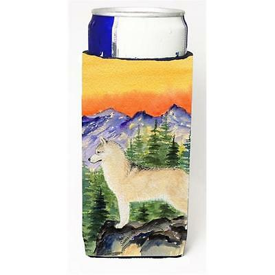 Siberian Husky Michelob Ultra bottle sleeves For Slim Cans 12 oz.