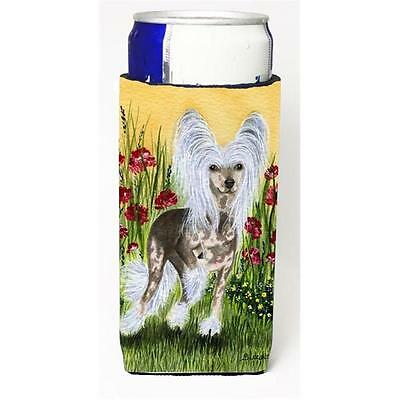 Carolines Treasures Chinese Crested Michelob Ultra bottle sleeve for Slim Can