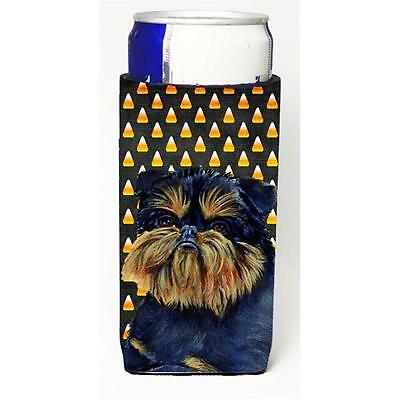Brussels Griffon Candy Corn Halloween Portrait Michelob Ultra bottle sleeves ...