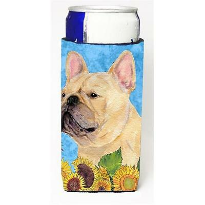 French Bulldog In Summer Flowers Michelob Ultra bottle sleeves For Slim Cans ...